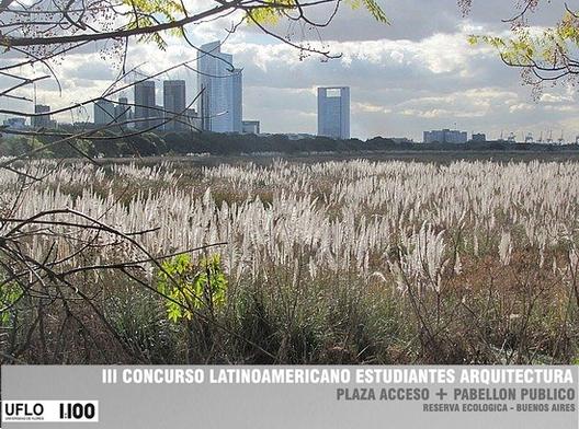 III Concurso latinoamericano de estudiantes de arquitectura / Argentina