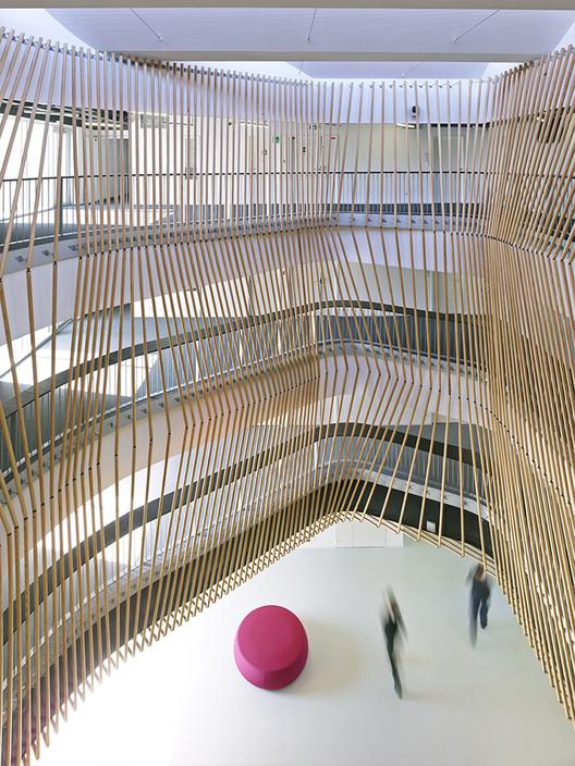 Hub Créatic  / Tetrarc Architects, © Stéphane Chalmeau