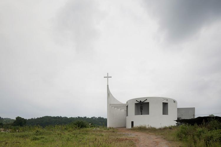 Iglesia católica en Qichun / Leekostudio, Cortesía de Leekostudio