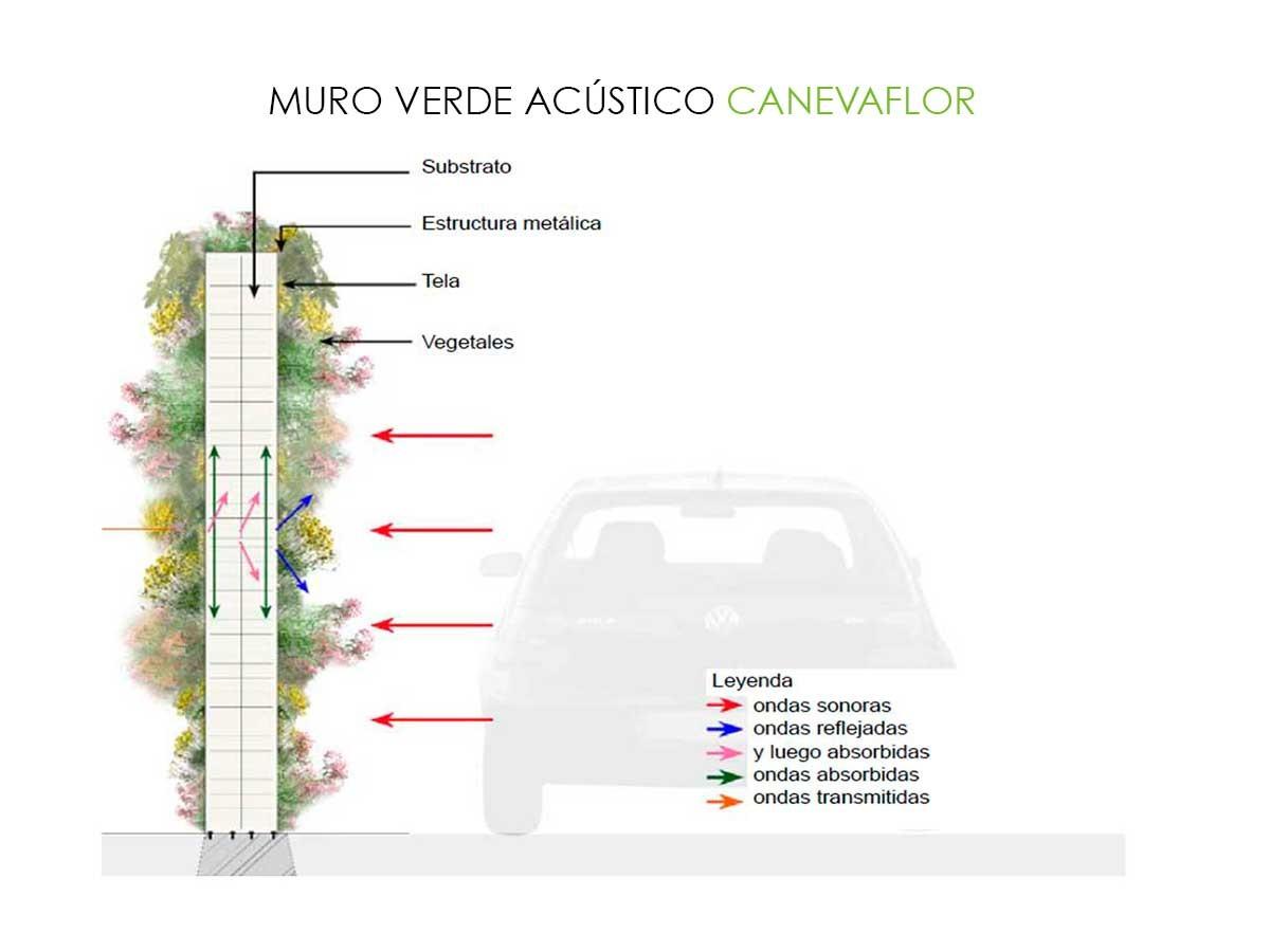 Galer a de materiales muros verdes descontaminantes for Tipos de muros verdes