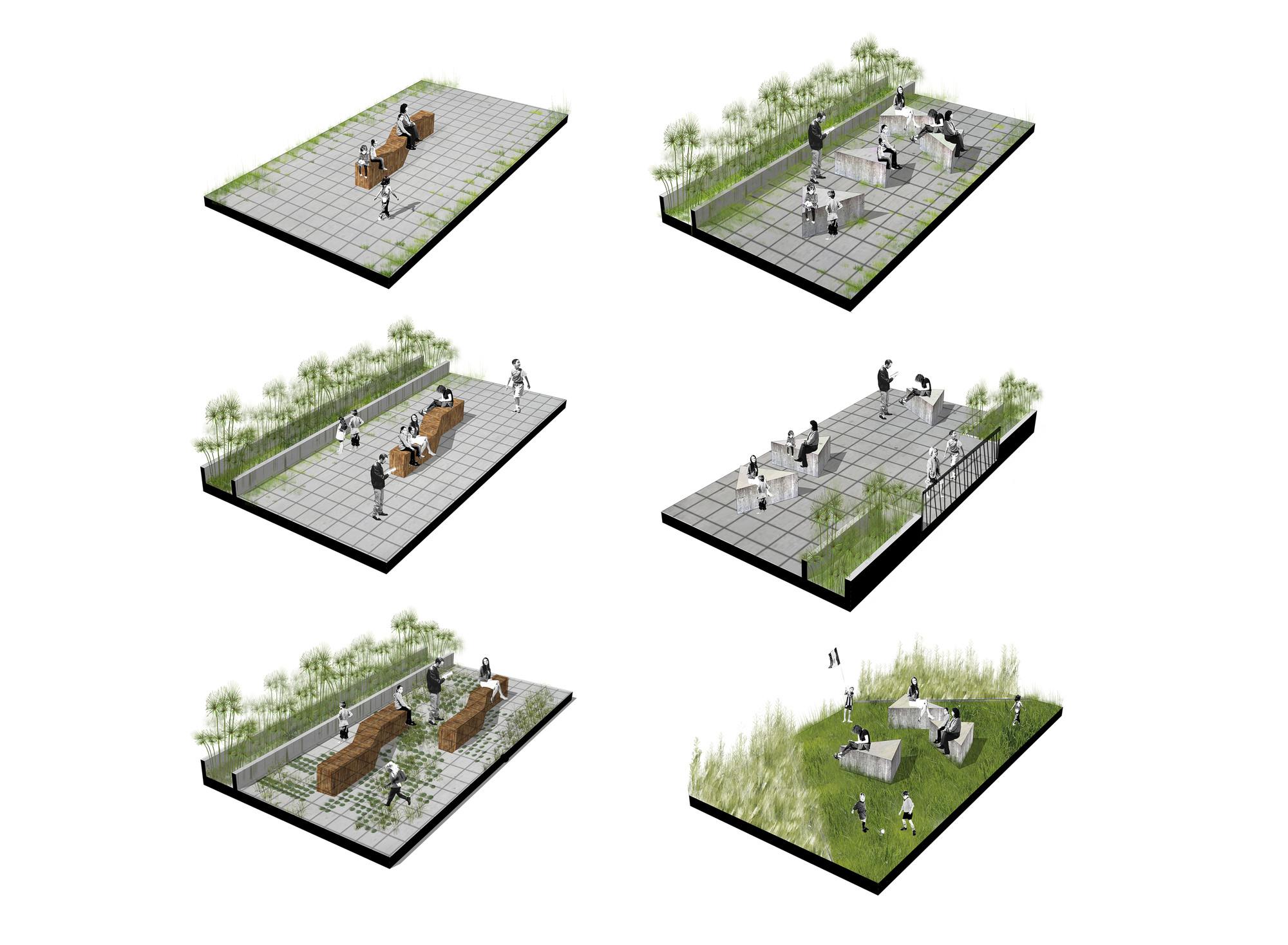 Galer a de megacolegio jard n educativo ana d az for Tipos de mobiliario urbano pdf