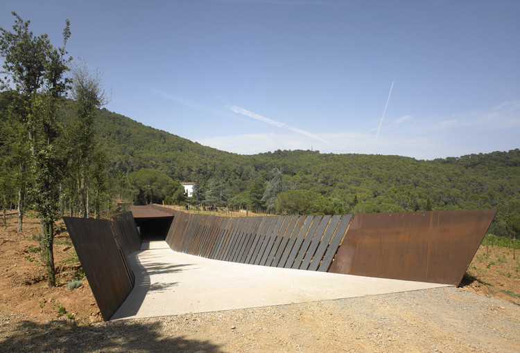 Bell-lloc Winery / RCR Arquitectes, © Eugeni Pons