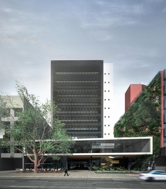 Menção Honrosa no concurso de ampliação do SENGE-RS / Grifo Arquitetura, Courtesy of Grifo Arquitetura