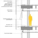 Corte construtivo. Image Courtesy of Grifo Arquitetura
