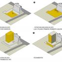 Diagrama construtivo. Image Courtesy of Grifo Arquitetura