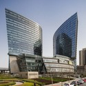 North Star Mixed-use Development, Beijing, China [Designed by Andrew Bromberg]. Image Courtesy of Aedas