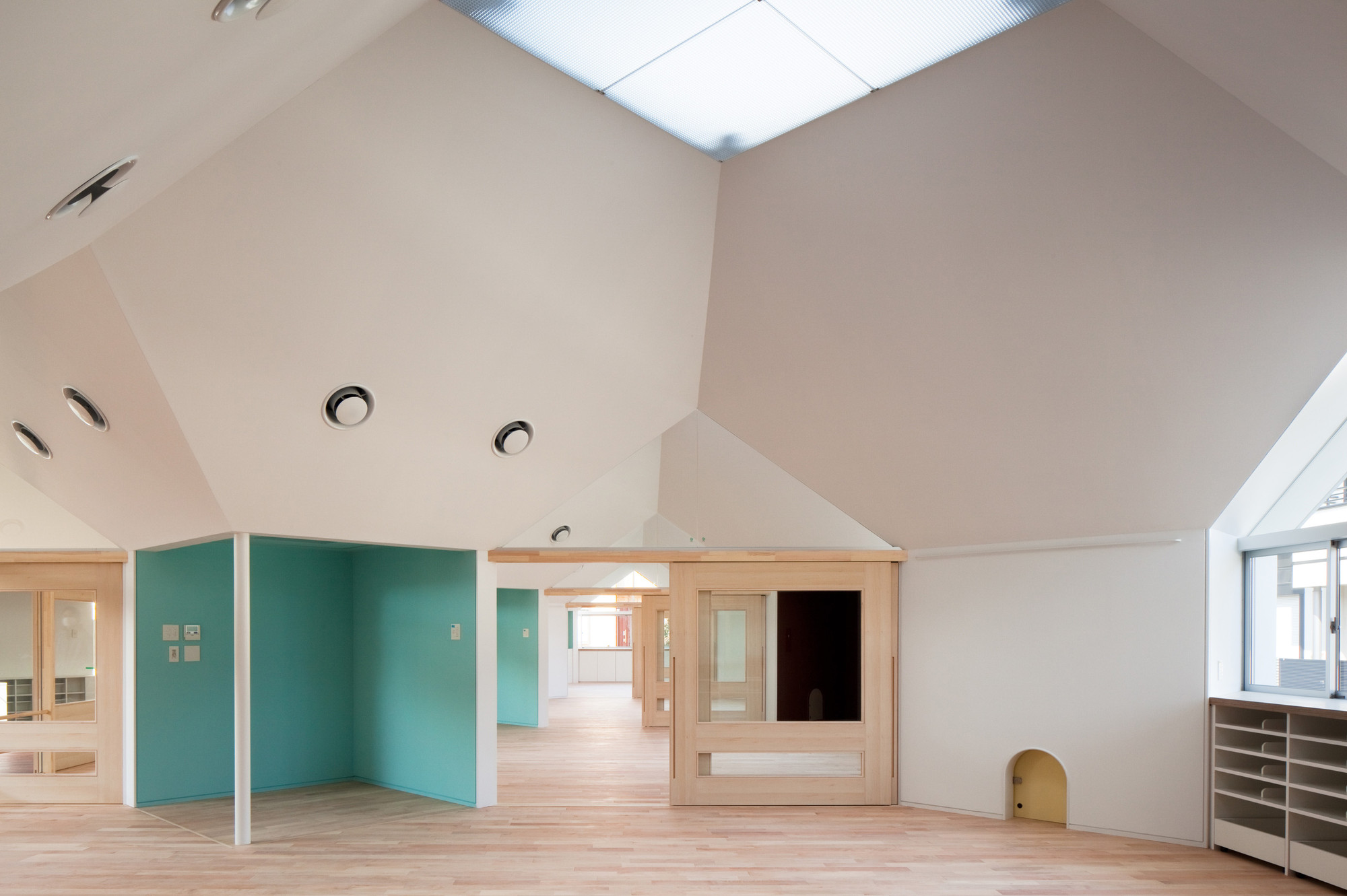 Kobato Nursery School / so1architect, © Kai Nakamura