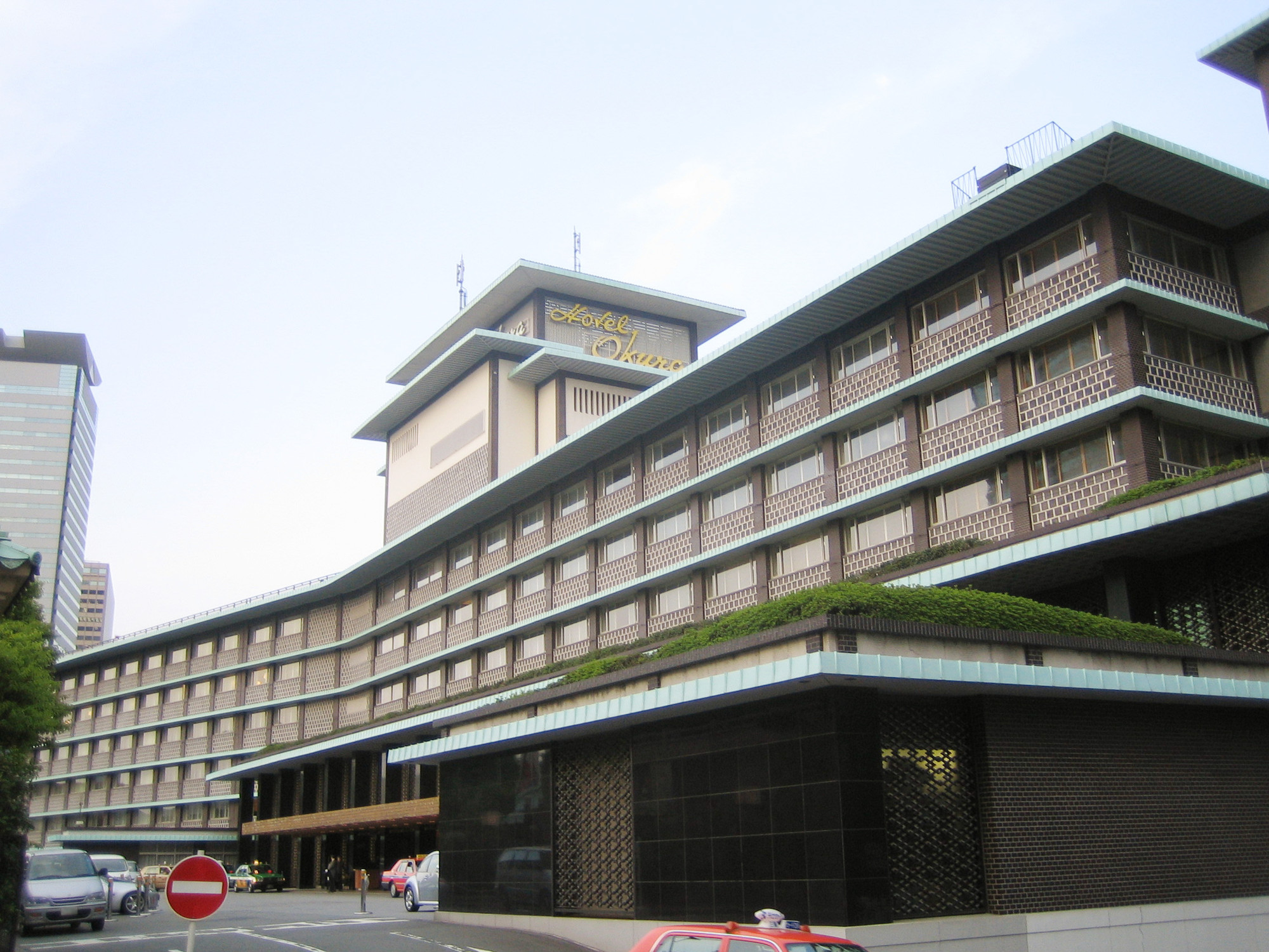 Tokyo 39 s modernist gem hotel okura to be demolished for Design hotels wiki