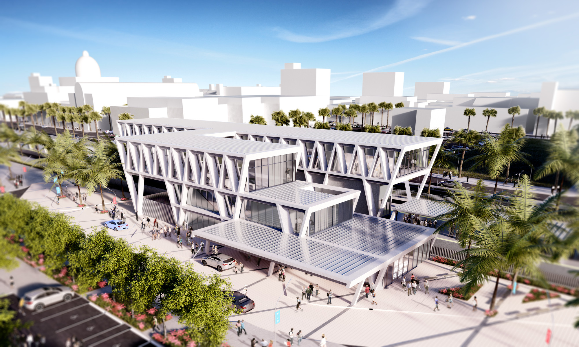 Som reveals design for quot all aboard florida train station