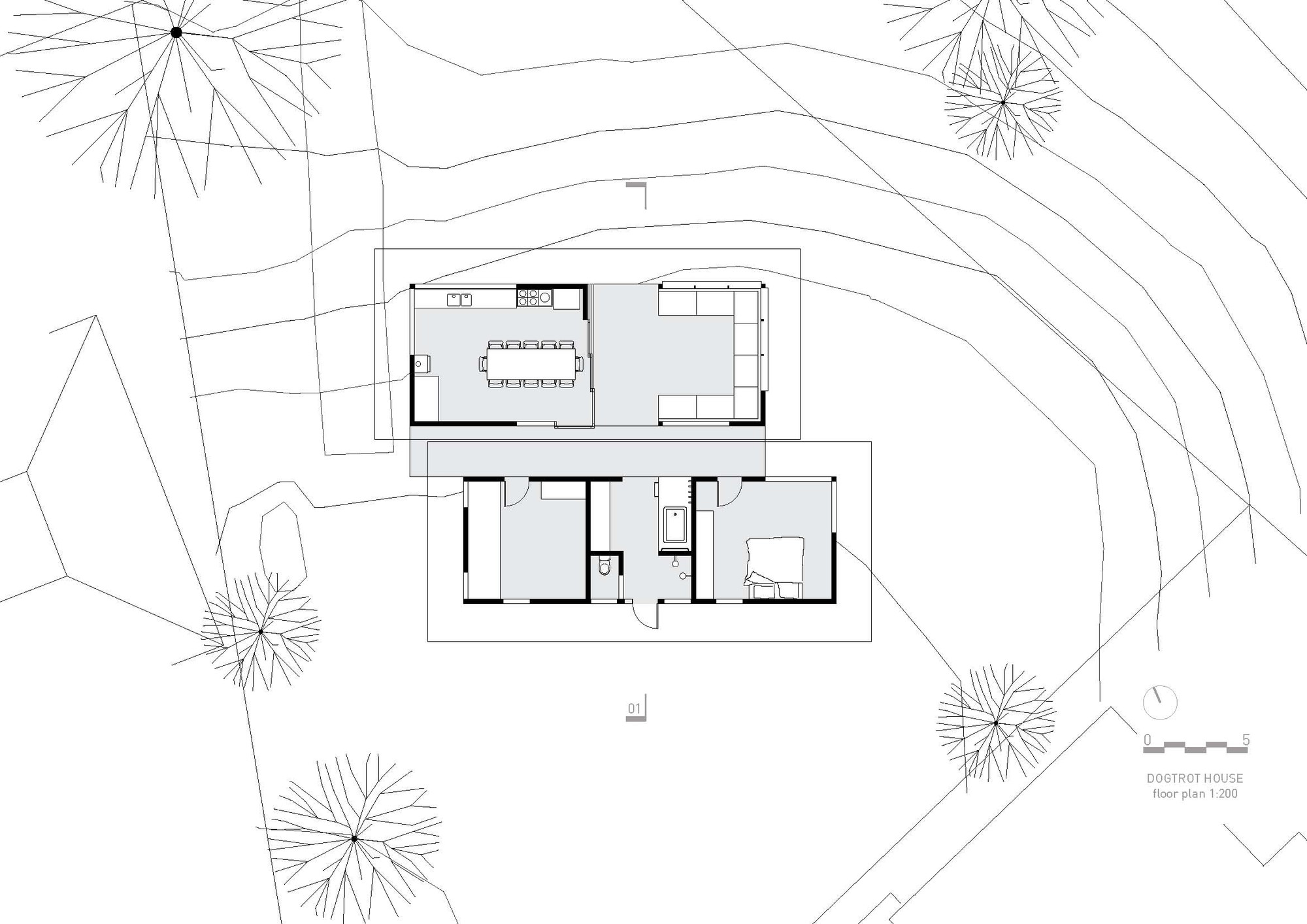 Picture of: Gallery Of The Dogtrot House Dunn Hillam Architects 15