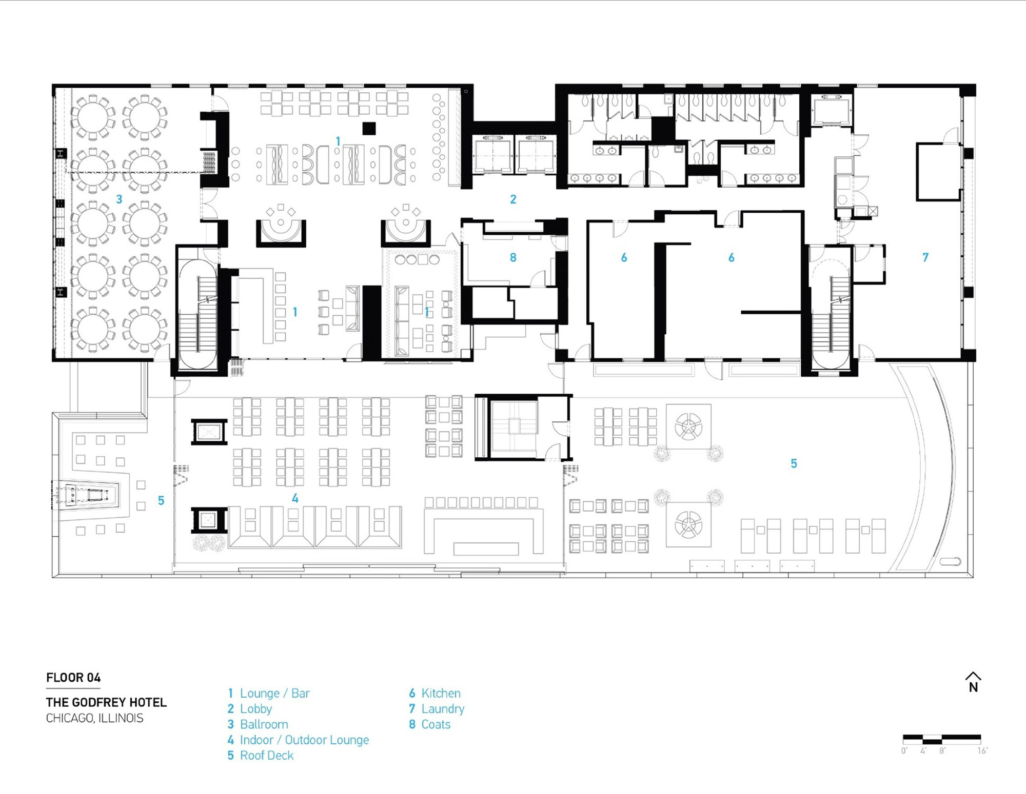 The Godfrey House Plan Gallery Of The Godfrey Hotel Valerio Dewalt Train