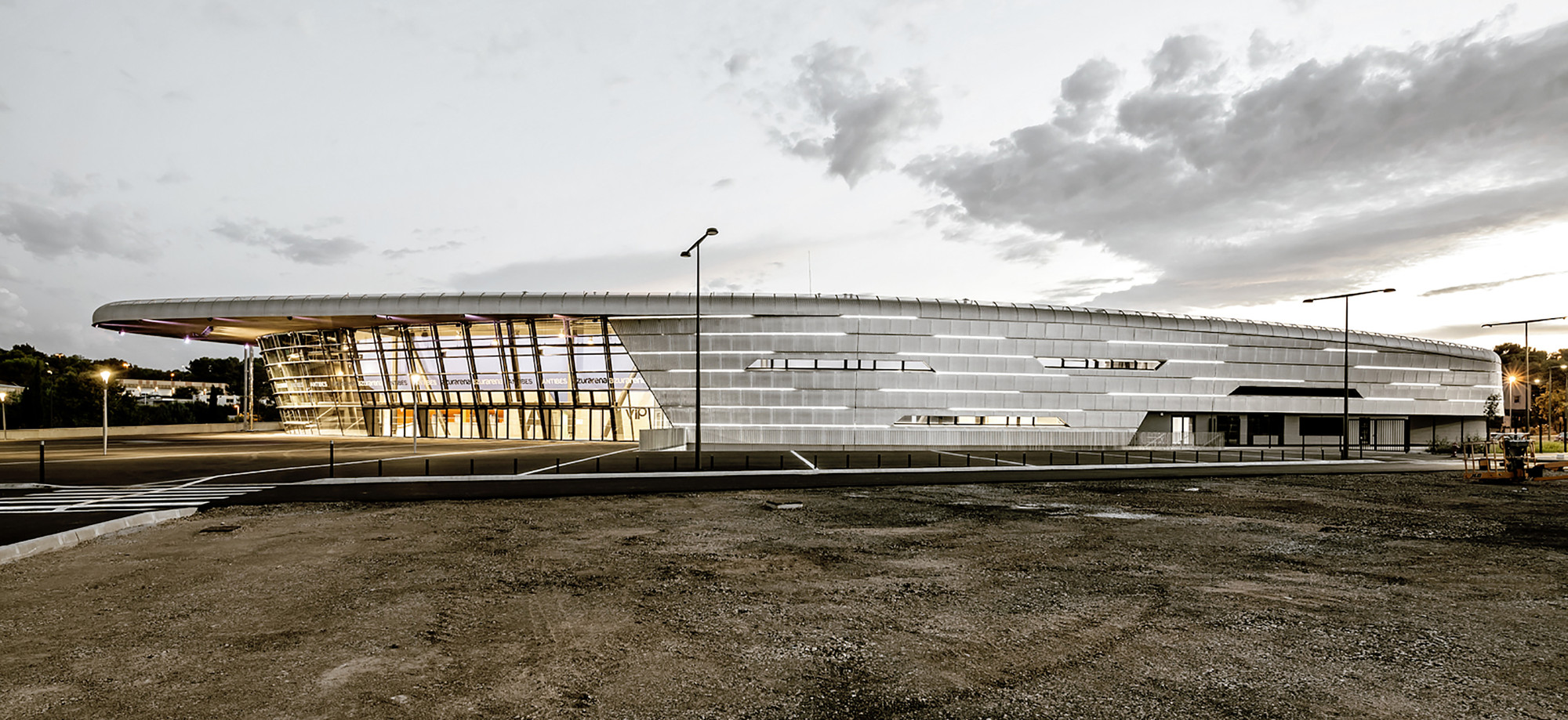 Azur Arena / Auer Weber, © Aldo Amoretti