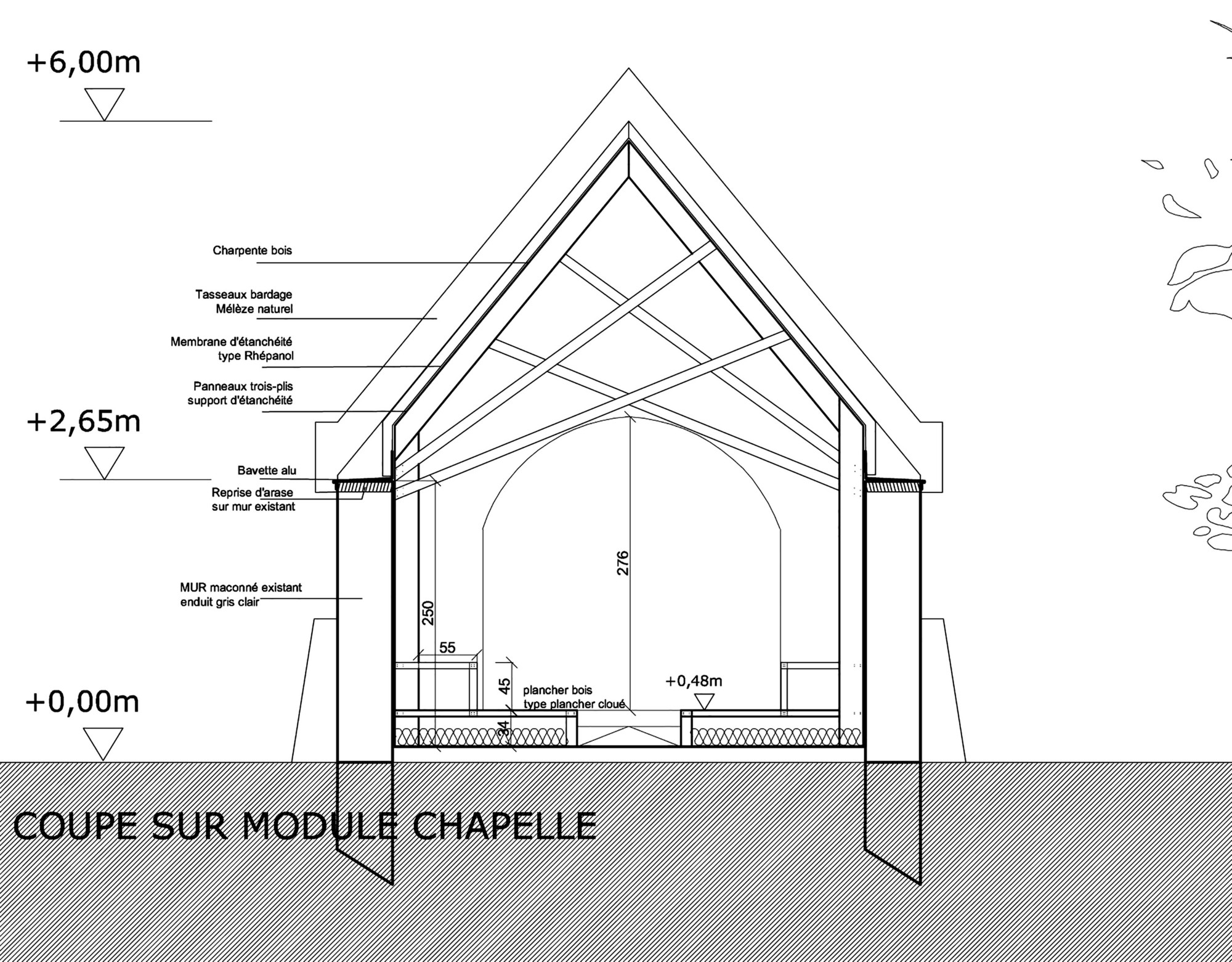 Gallery Of Chapel St Genevieve / OBIKA Architecture