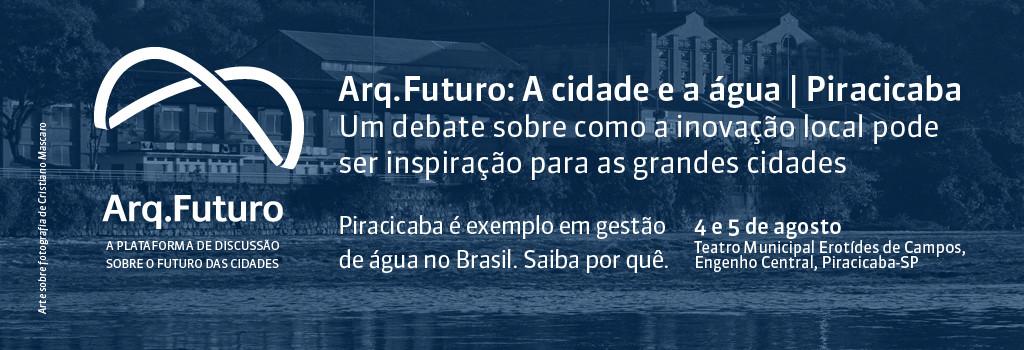 """Arq.Futuro realiza edição em Piracicaba com tema """"A Cidade e a Água"""", Courtesy of Arq.Futuro"""