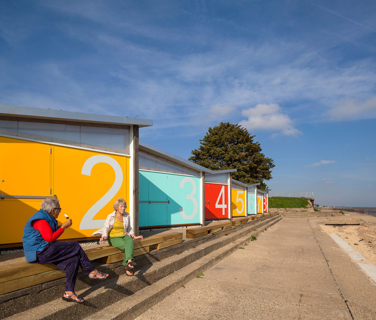 Nuevas casetas de playa / Pedder & Scampton, © Simon Kennedy