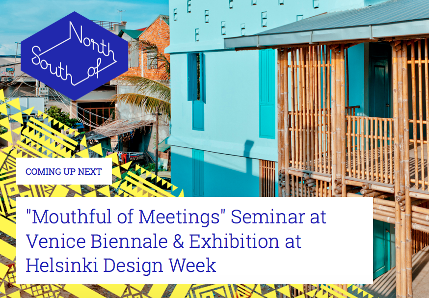 """Mouthful of Meetings"" Seminar at Venice Biennale & Exhibition at Helsinki Design Week"