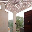 Kindred House: Pergolas. Image Courtesy of Anagram Architects