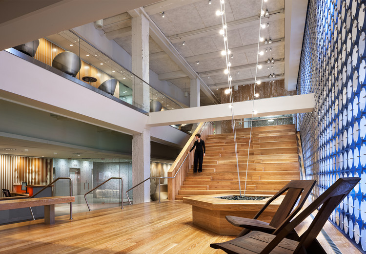 Pandora media inc new york office aba studio archdaily for Interior design office new york