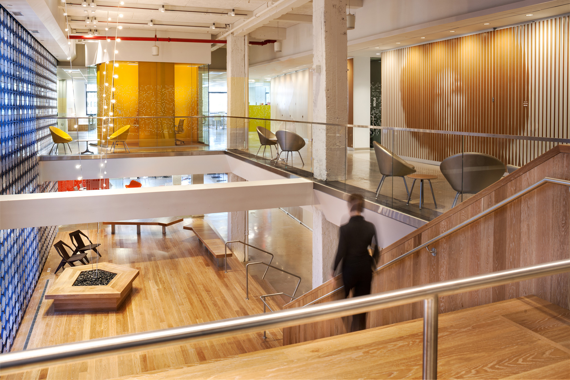 Gallery of pandora media inc new york office aba studio for Interior design companies nyc