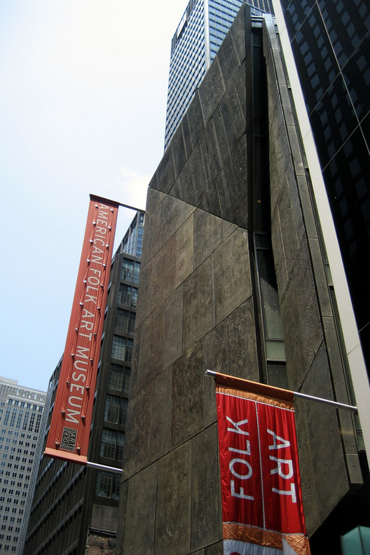 Williams & Tsien made headlines in last year thanks to the demolition of their American Folk Art Museum. Image © Flickr CC User Wallyg