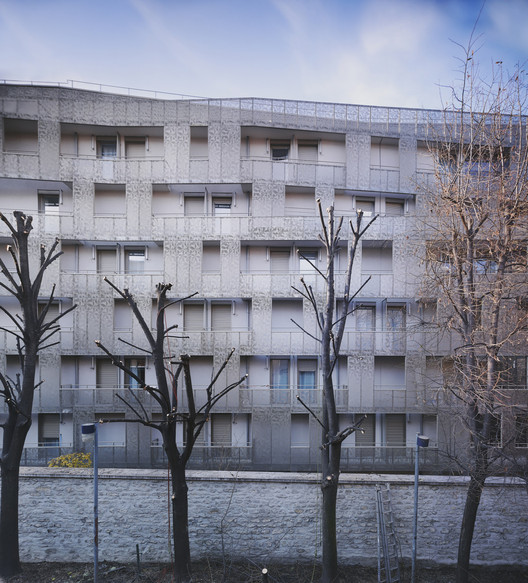 Student Hall of Residence + Family Homes / Babled Nouvet Reynaud Architectes, Courtesy of Babled Nouvet Reynaud Architectes