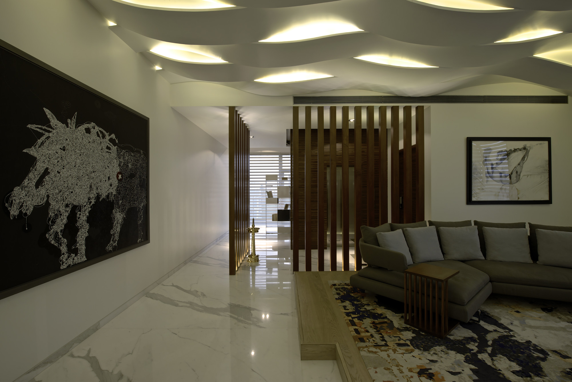 Apartment Interior Design India sdm apartment / arquitectura en movimiento workshop | archdaily