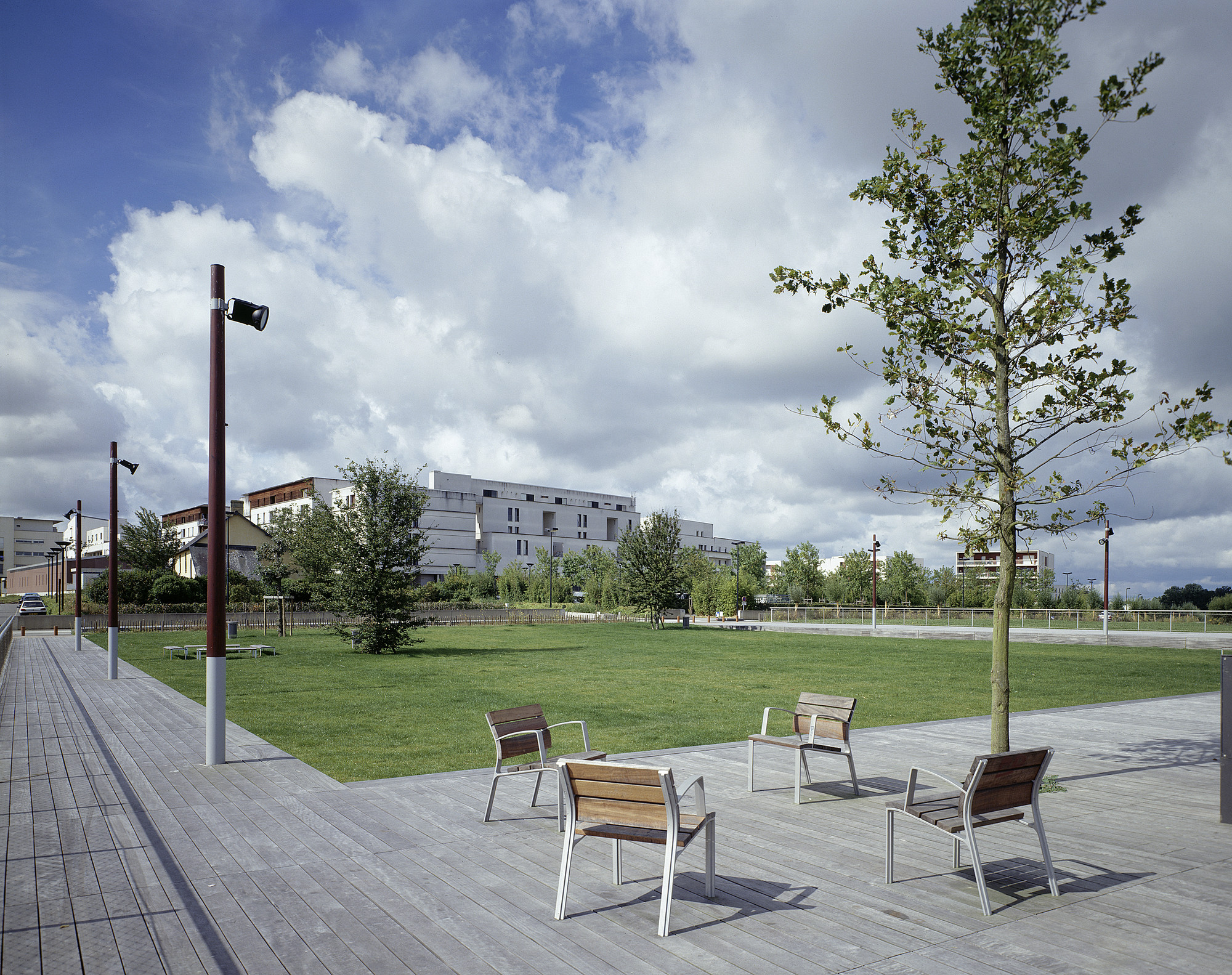 Paisaje y arquitectura parque ecol gico de st jacques Arquitectura de desarrollo