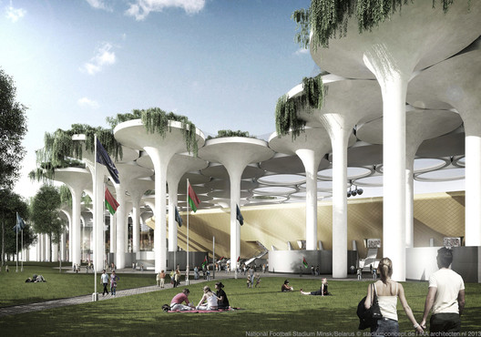 Exterior View. Image © stadiumconcept with IAA architecten