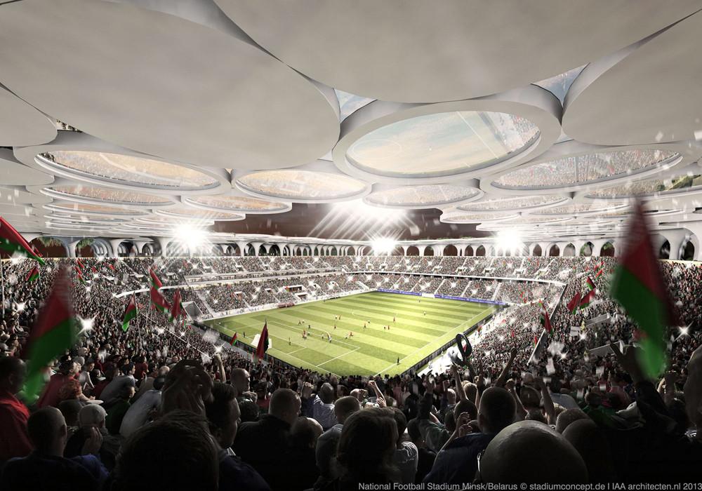Gallery of stadiumconcept and IAA architecten Create