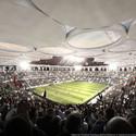 Interior View. Image © stadiumconcept with IAA architecten