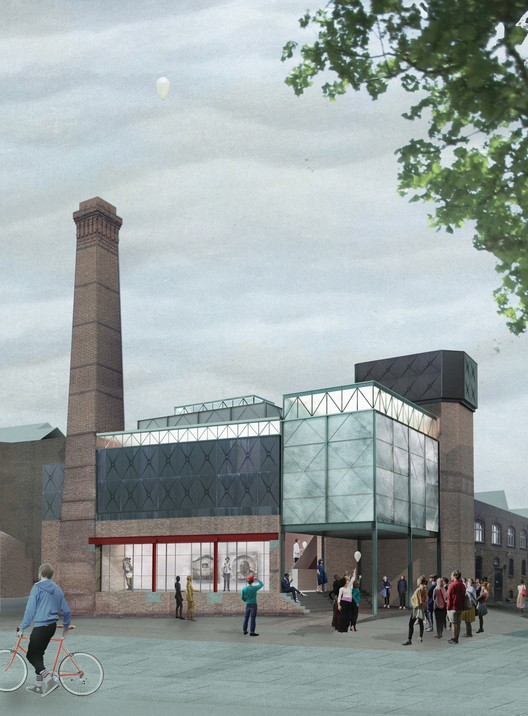 Assemble Selected to Design Goldsmiths College Art Gallery, Courtesy of Assemble