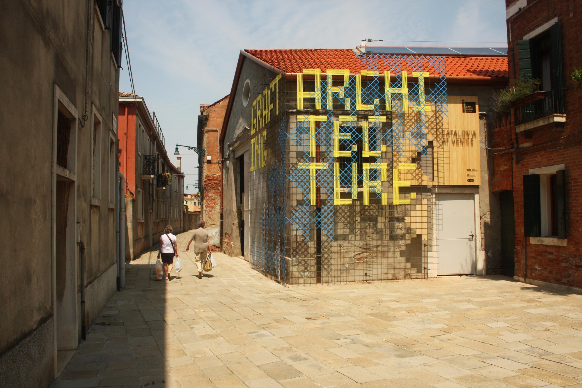 Bienal de Venecia 2014: 'Grafting Architecture' por Josep Torrents i Alegre, © Pati Núñez