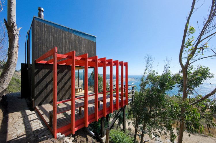 2 Hermanos Cabin / WMR Arquitectos, © Sergio Pirrone