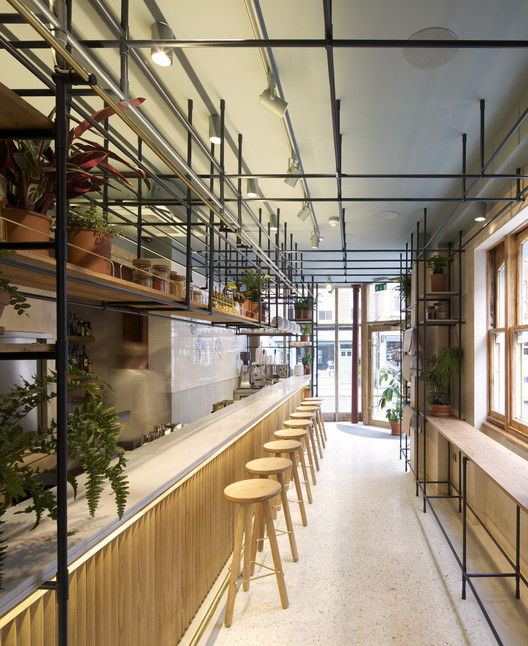 Opso k studio archdaily - Bar cuisine studio ...