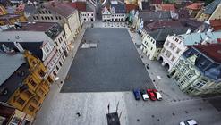 Reconstrução da praça em Frydlant / Balda Jand'ourek architects