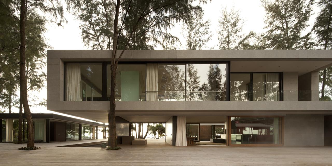 Cette maison container originale de 85,42 m² reprend le style ...