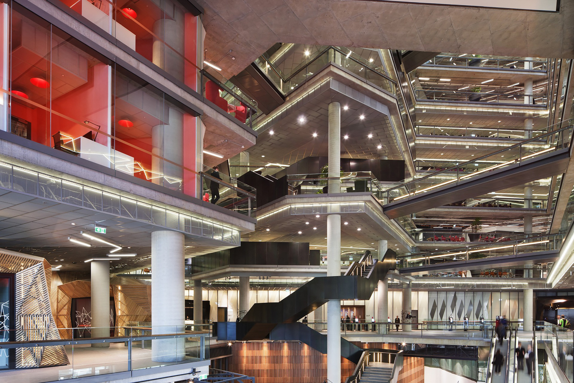 Nab Docklands Woods Bagot Archdaily