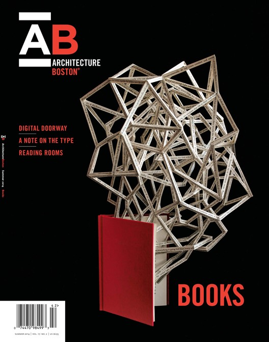 Latest Issue of ArchitectureBoston Devoted Entirely To Architecture & Design Books, Courtesy of Boston Society of Architects