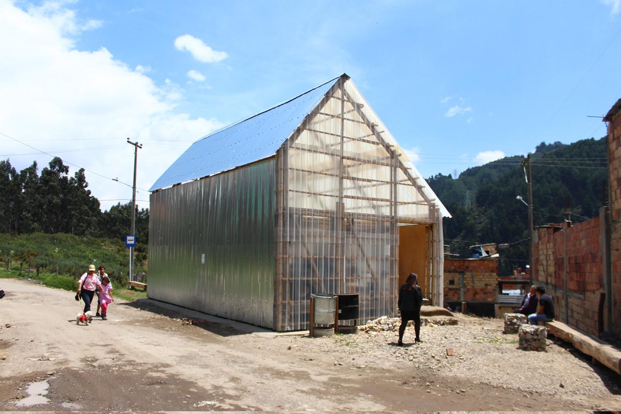 Casa de la Lluvia [de ideas] en Bogotá: un espacio para la cultura y el encuentro, © Arquitectura Expandida