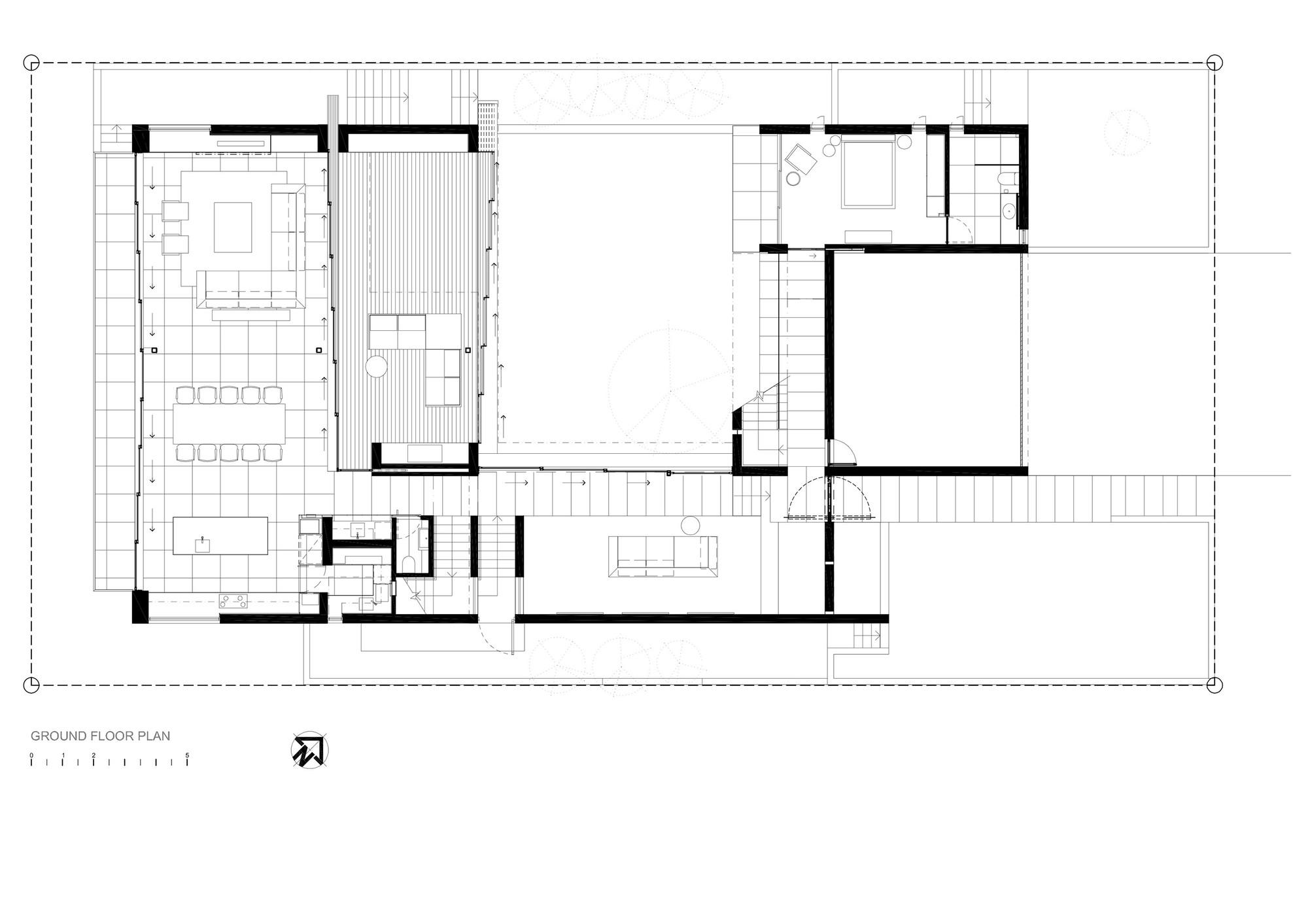gallery of pearl bay residence gavin maddock design studio 26 pearl bay residence gavin maddock design studio 26 27 ground floor plan