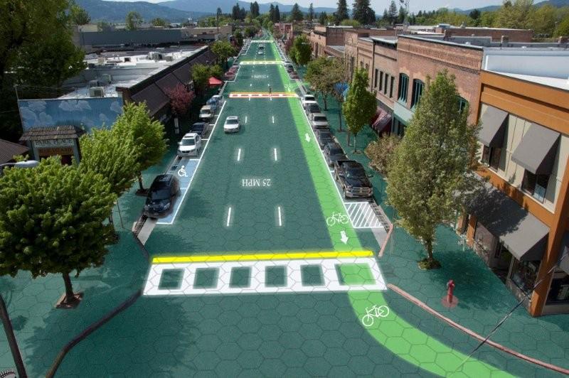 Ruas solares: podem se tornar uma realidade?, Solar Roadways © Sam Cornett