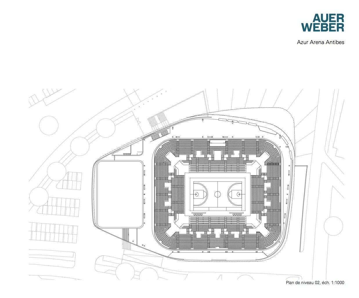 gallery of azur arena auer weber 10 azur arena auer weber