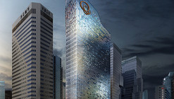 UNStudio Revamps Hanwha Offices with Shimmering LED Facade