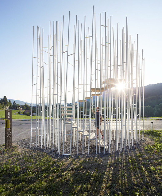 New Images Released of Krumbach, Austria's Famous Bus Stops, © Hufton + Crow
