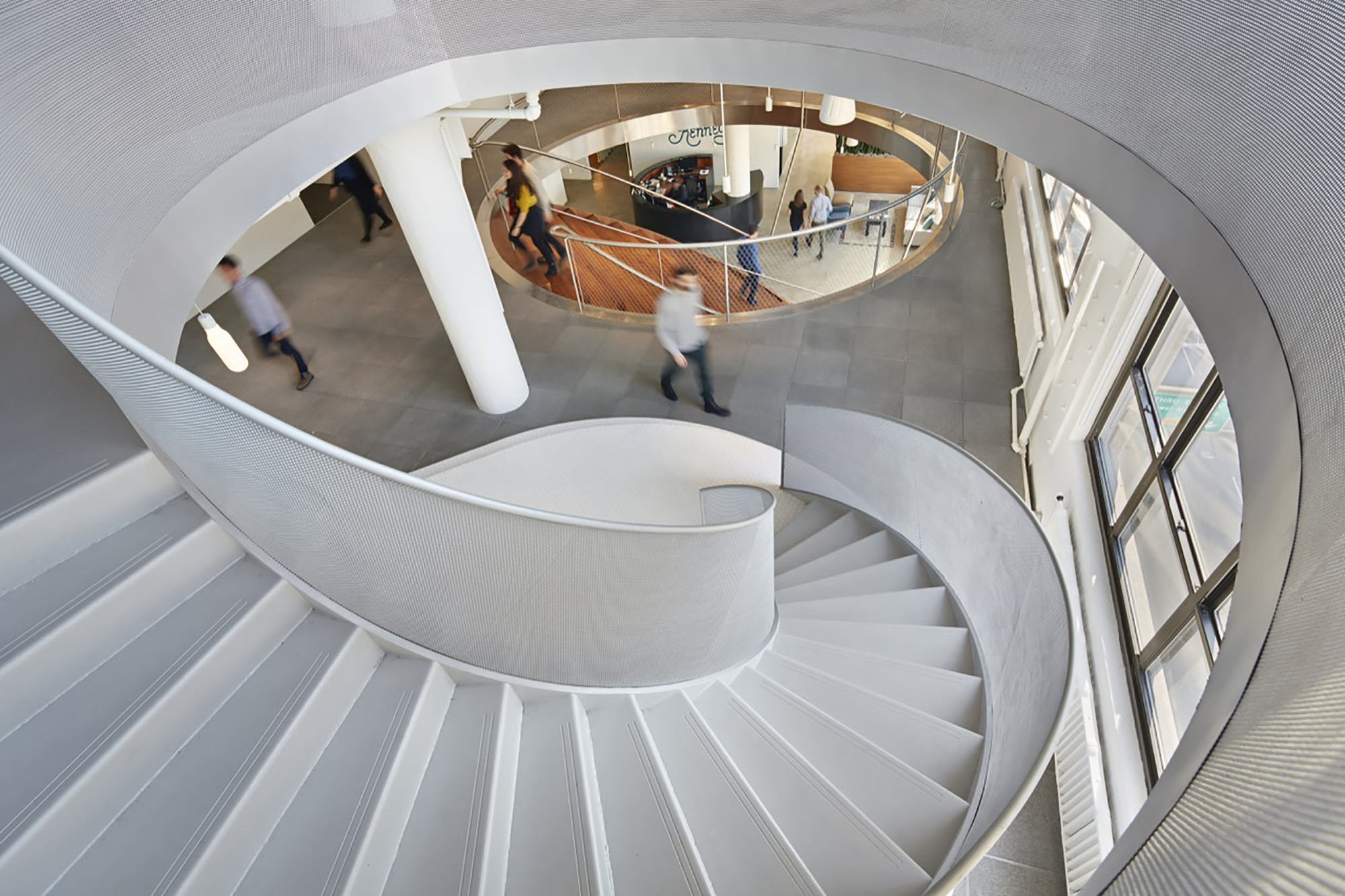 Can Buildings Make Us Healthier?, Staircases at Wieden+Kennedy NY by WORKac. Image © Bruce Damonte