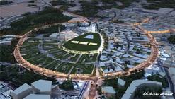 Erick van Egeraat propõe centro urbano exclusivo para pedestres na Arábia Saudita