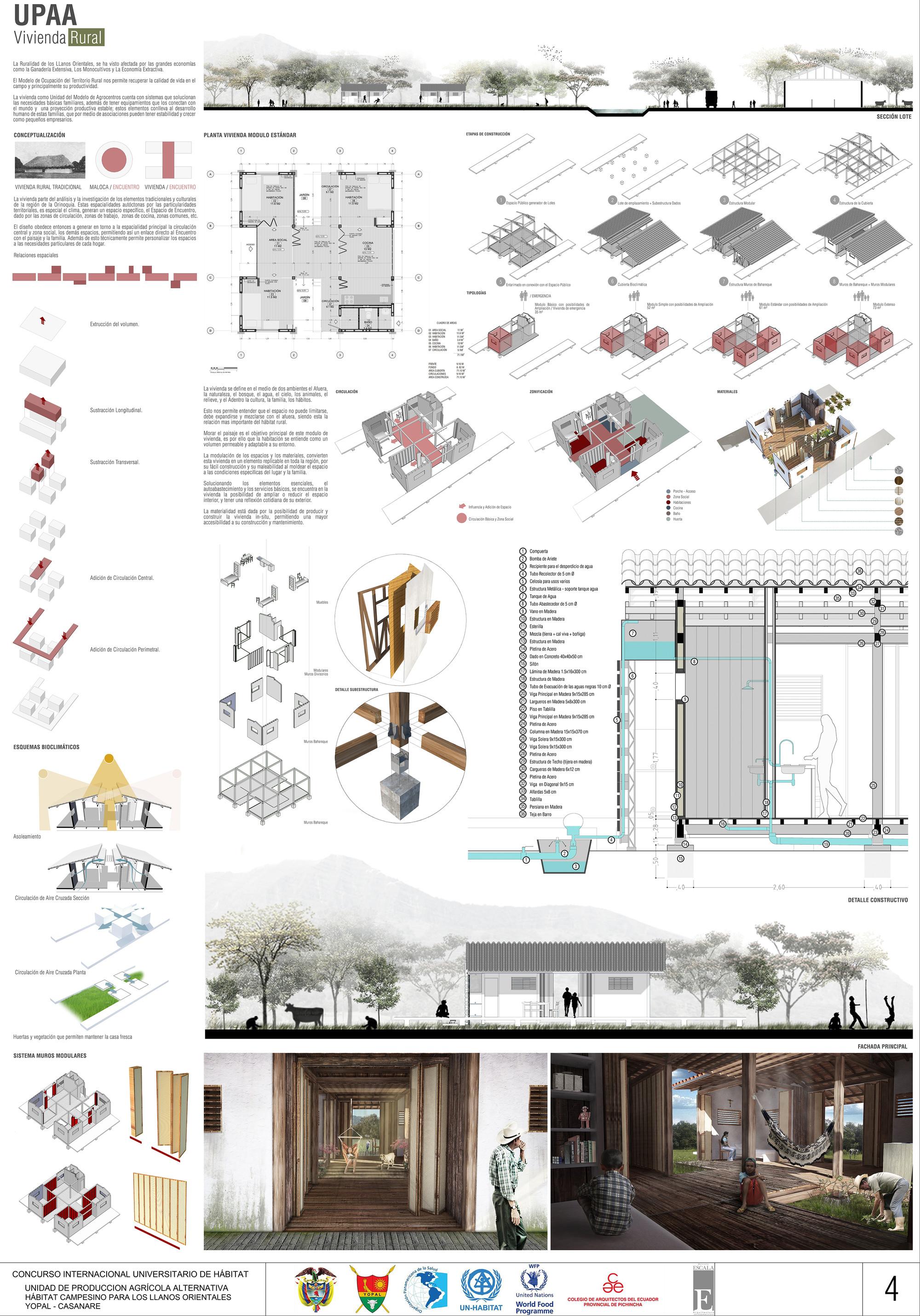 Galer a de primer lugar en concurso internacional for Conceptualizacion de la arquitectura