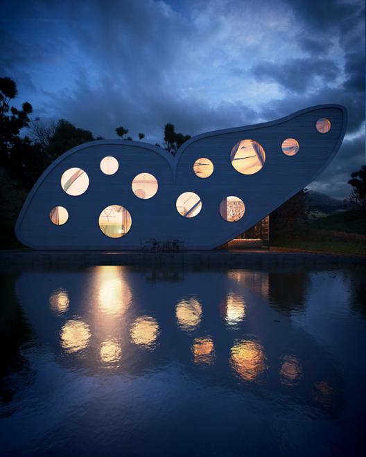 Visualización en Arquitectura: Thiago Lima, Butterfly. Image Courtesy of Thiago Lima
