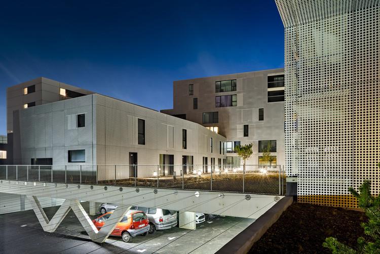 viviendas en le havre phd architectes plataforma arquitectura. Black Bedroom Furniture Sets. Home Design Ideas