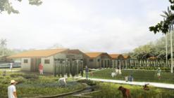 Primer Lugar en concurso internacional universitario de hábitat CONVIVE VIII / Colombia